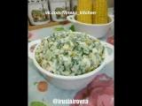 Салат из вареной кукурузы.