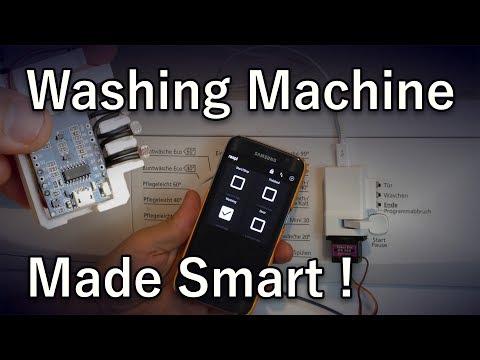 Making a Washing Machine Smart - Home Automation (MQTT, ESP8266)