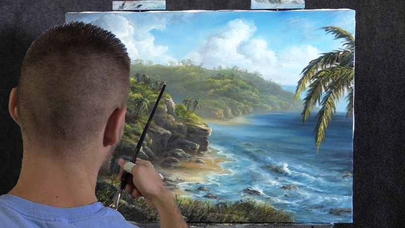 The Rocky Coast | Paint with Kevin ®