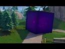 Куб скользит