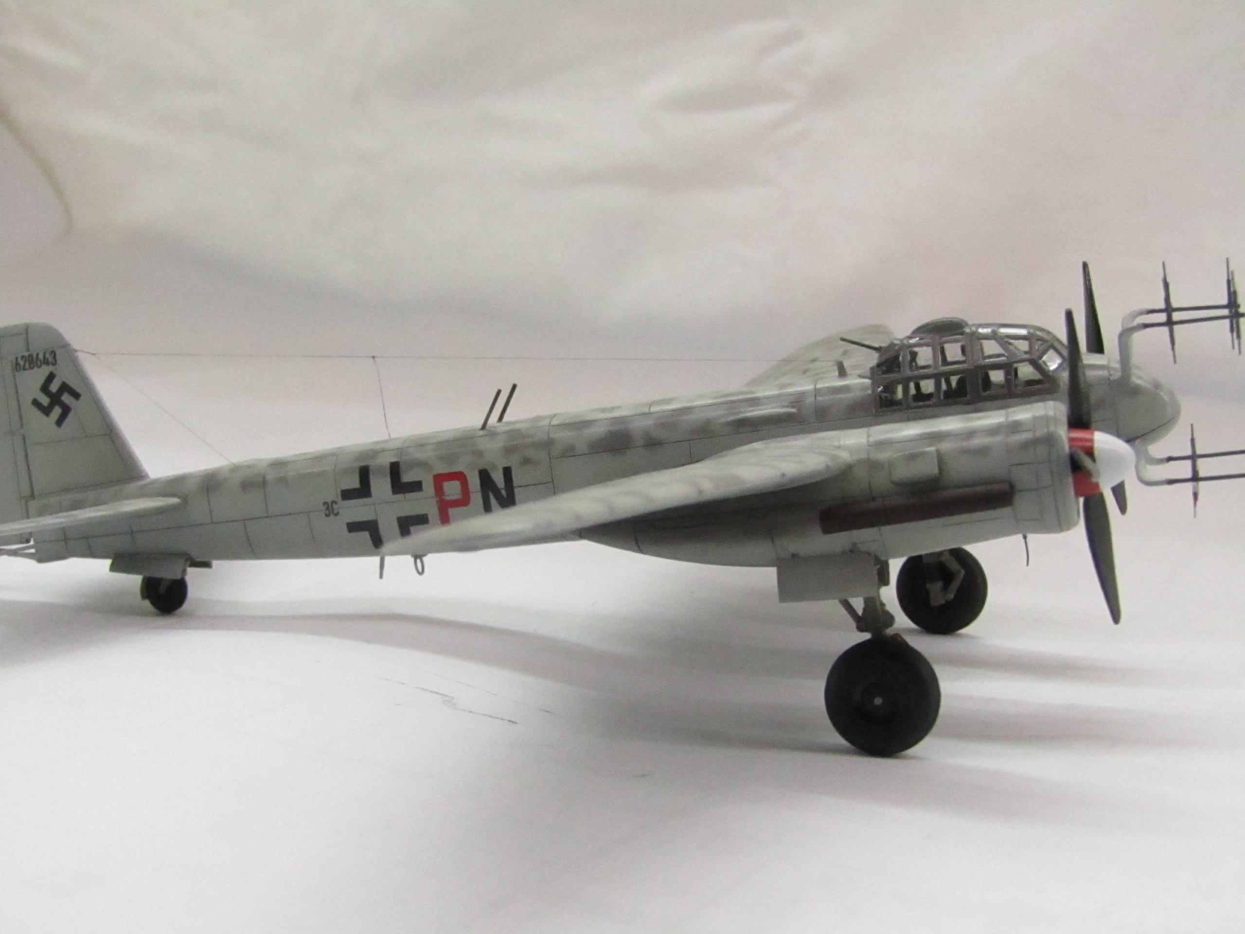 Ju-88 G-6 1/72 (Звезда) SJc-kinOSio