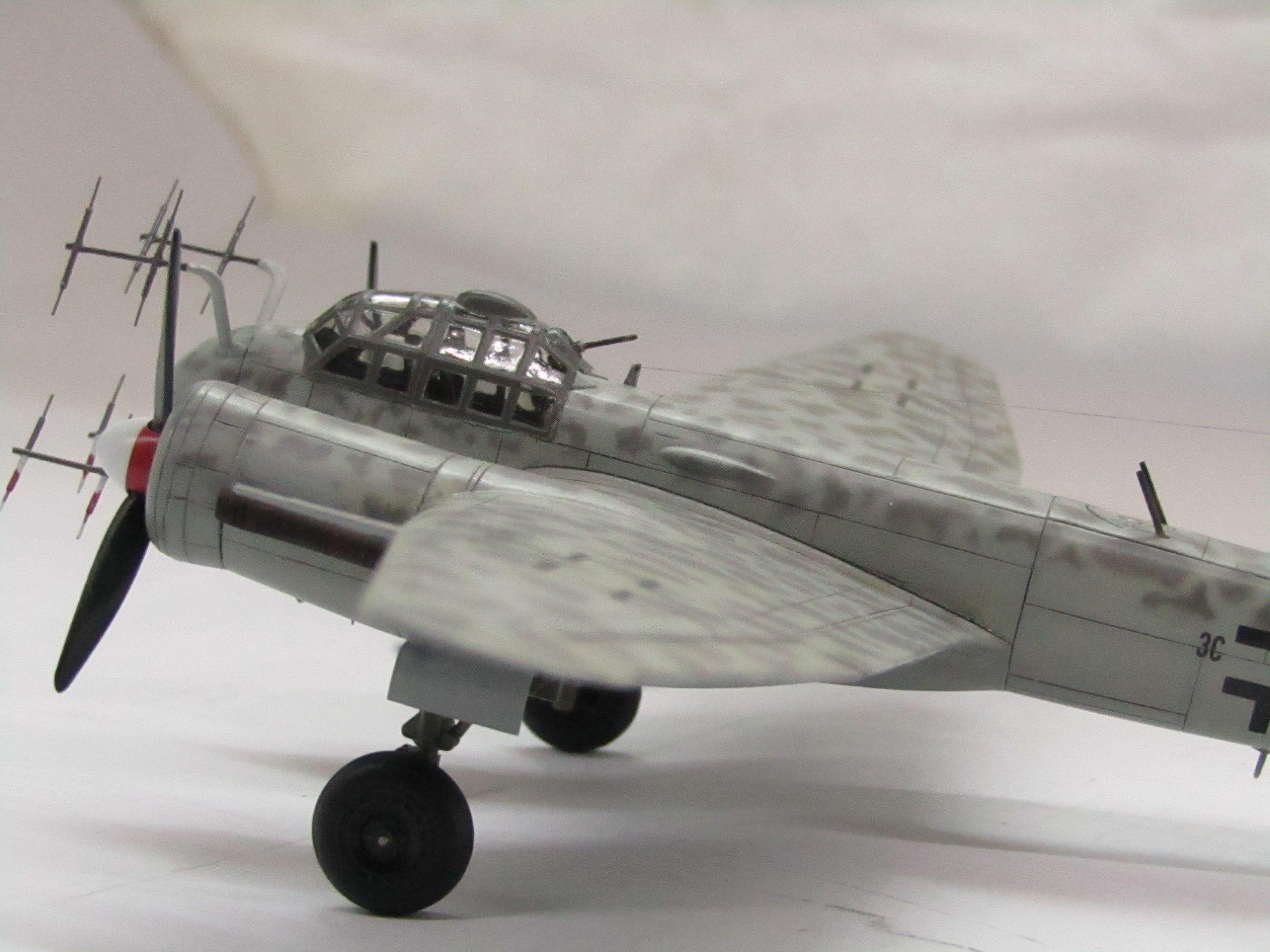 Ju-88 G-6 1/72 (Звезда) L5jyluQ9EMY