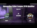 Adrenaline Cyber League 2018 Qualifier ll Spirit vs KPI