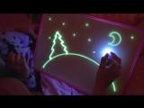 Игрушка для рисования светом в темноте