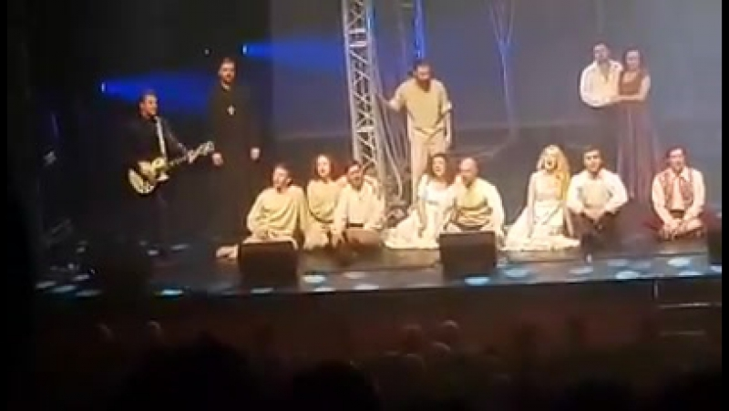 Юнона и Авось Аллилуйя любви Театр Рыбникова Израиль 2017