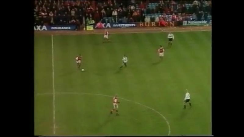 MU - Arsenal 1998-1999 Giggs goal