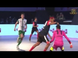 Шикарные финты и голы Роналдиньо в футзале