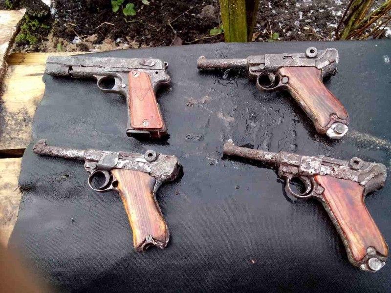 В Неманском  районе в сарае пенсионера обнаружили склад боеприпасов