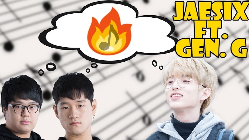 [ Gen.G X Jaesix ] WROTE A SONG WITH LEAGUE OF LEGENDS WORLD CHAMPS!! (Gen G Cuvee/ Crown)