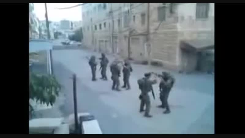 IDF Israeli soldiers dancing to Kesha Tik Tok in Hebron 2010 Rock the Casba