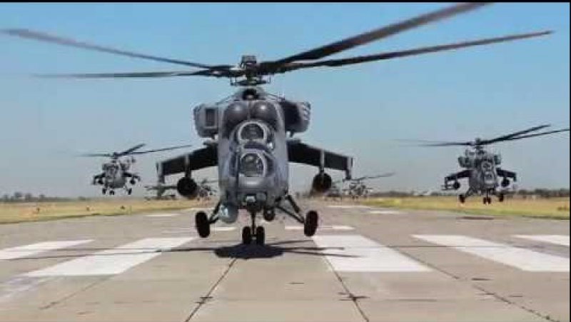 Helicopter attack ¦ вертолетный налёт армейская авиация