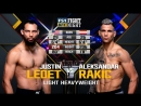 UFC FN 134 Justin Ledet vs. Aleksandar Rakic