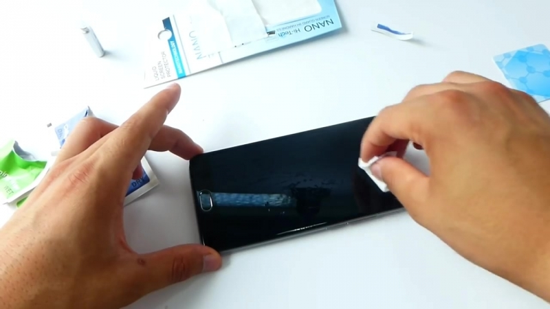 [Sef in ua] Обзор жидкого стекла для телефона Nano Hi Tech от ИМ sef.in.ua