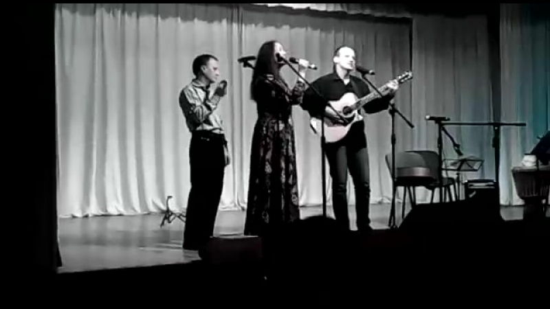 Фрагмент концерта в ДК Краснообска