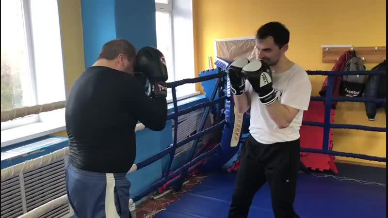 Ударная тренировка ММА Кикбоксинг в ТРИУМФе