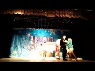 Снежный вихрь, любовная история