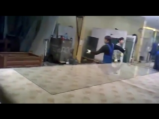 Как режут стёкла
