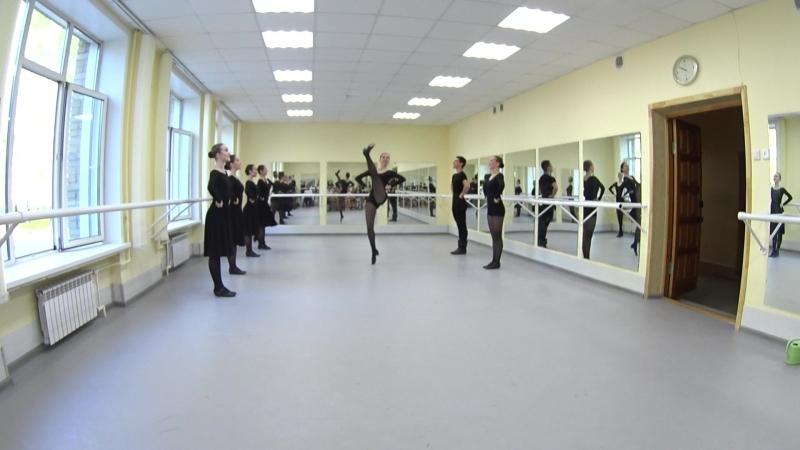 Показ. Народно-сценический танец. 2-й семестр. Часть 11