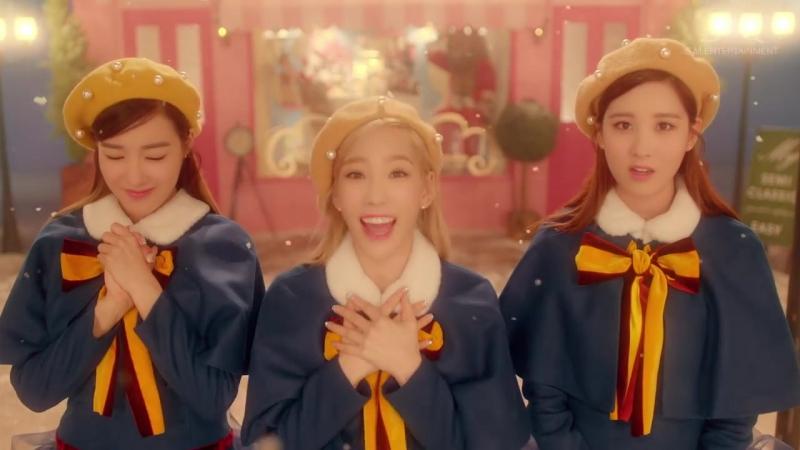 Girls Generation-TTS Dear Santa MV