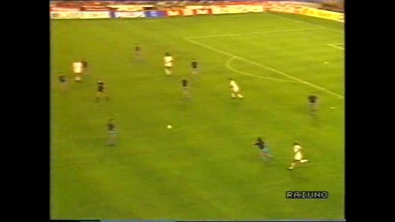 (1989) Milan - Steaua Bucarest 4-0 (Finale Champions League-Barcellona 24.05.1989-RaiUno)