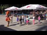 25 августа В гостях у парка клоунесса Апельсинка
