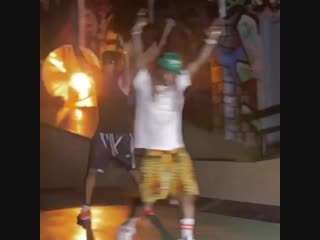 PART 2: Behind the scenes footage from on set of Swizz Beatz, Lil Wayne and Alicia Keys'