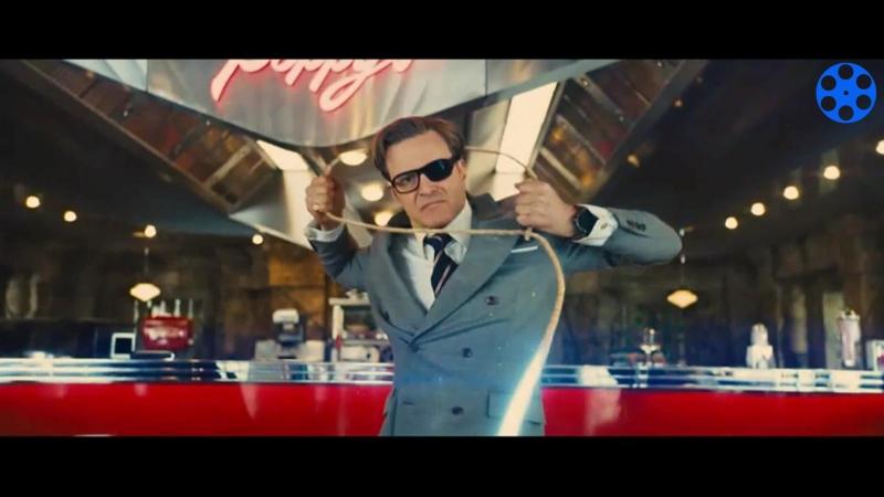 Самый безбашенный момент из фильма Кингсман 2:Золотое кольцо