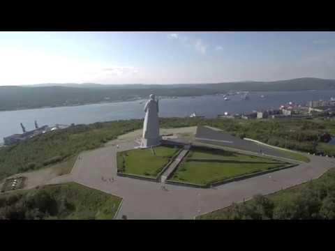 Xiaomi Mi Drone 4K Семеновское озеро, Лапландия летом.