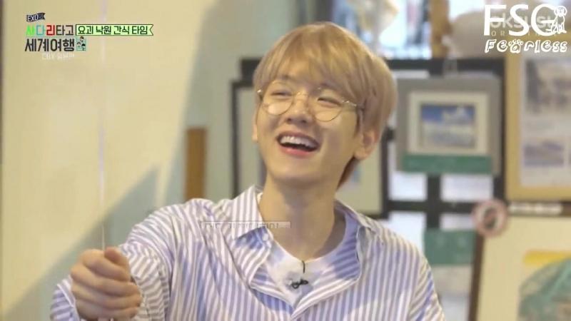 [РУС.САБ] EXO-CBX @ Travel the world on EXO's ladder, Episode 10