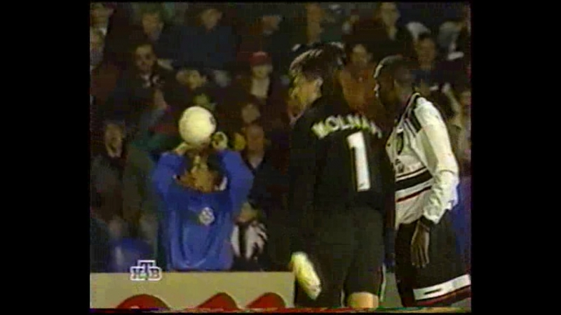 74 CL-1997/1998 1. FC Košice - Manchester United 0:3 (17.09.1997) HL