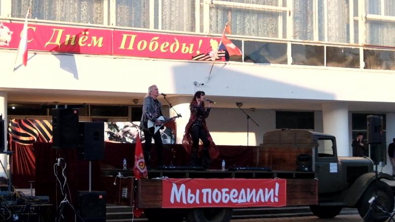 День Победы - 2018 в Лосино-Петровском: концерт на городской площади (ВИА