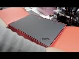 Распаковка ThinkPad X1 Yoga
