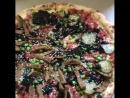 Один из тестов новейшей уникальной веганской Протеиновой пиццы от СЛАЙС пиццы