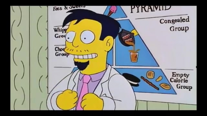 Dr. Nick Helps Homer Gain Weight - The Simpsons - YouTube