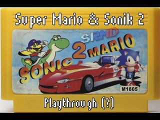 (PAL-Famiclone) Super Mario & Sonik 2 (Chip to Dale no Daisakusen 2 hack) - Playthrough(?)