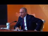 Анекдот от Путина на пресс-конференции 2017