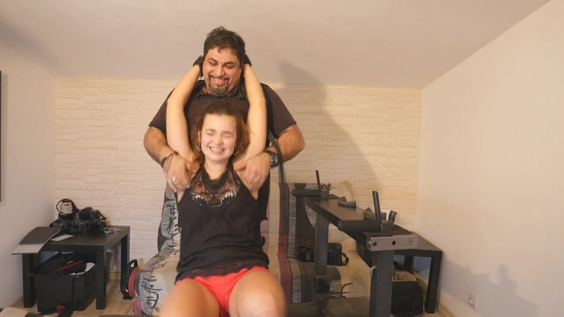 Feet Upperbody Tickle Torture For Soline Inesse