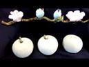 Beton DIY 🍎 Äpfel 🍎 einfach selber machen