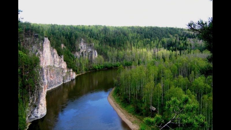 Забираемся на скалы в Чусовом