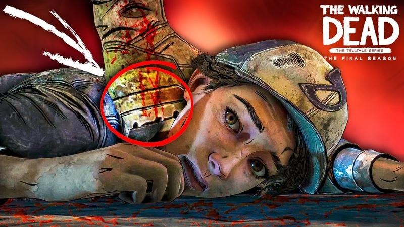 Разбор трейлера ко 2 эпизоду 4 сезона The Walking Dead The Final Season