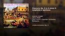 Concerto No. 8 in A minor II. Larghetto e spiritoso