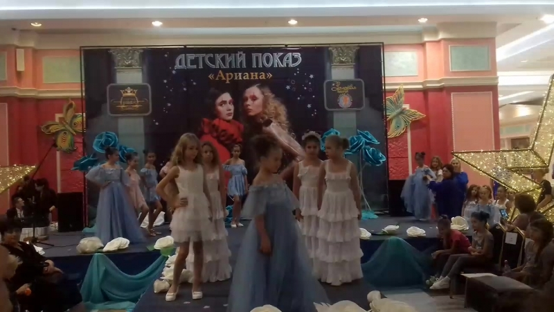 Показ Мод платья от Оксана Самойловой