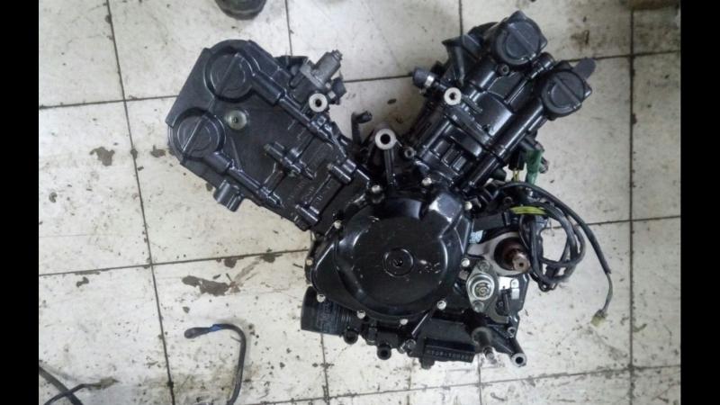 Проверка контрактного двигателя Suzuki SV400 K508 перед отправкой клиенту | motod.ru