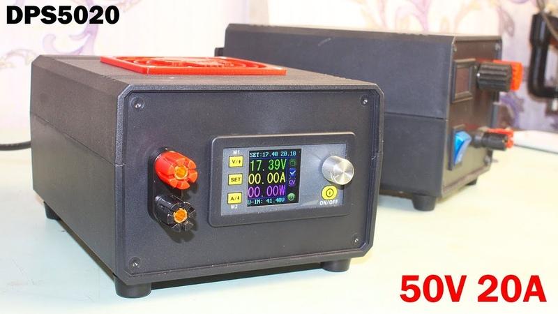 Лабораторный блок питания на модуле RD DPS5020 и Импульсном источнике питания Miandra