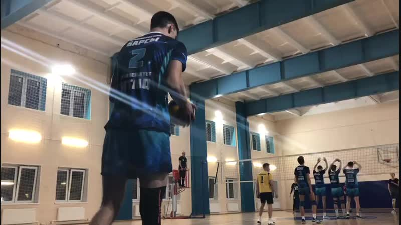 Чемпионат ВУЗов по волейболу. ИТМО-МЧС. Мужчины. 02.11.2018. (2)