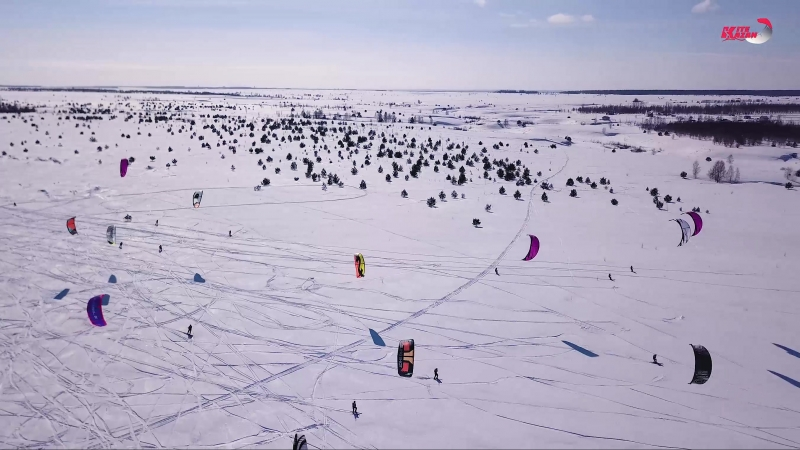 Кубок Волги по сноукайтингу 4 Этап KiteKazan Snowkite Cup 2018