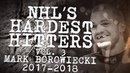 Biggest Mark Borowiecki Hits From 2017 18 NHL's Hardest Hitters