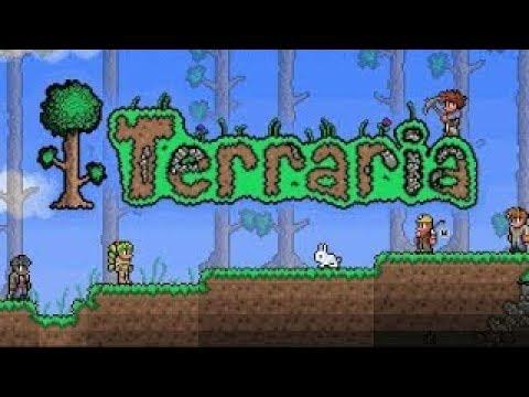 1-НАЧИНАЕМ ВЫЖИВАТЬ-TerrariaТеррария