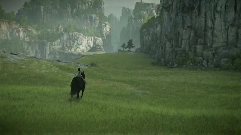 SHADOW OF THE COLOSSUS (PS4) - PSX 2017 Gameplay Demo @ 1080p (60ᶠᵖˢ) HD ✔