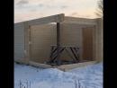 строительство бани из клеёного бруса